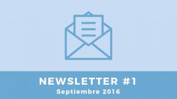 Newsletter #1 Septiembre 2016