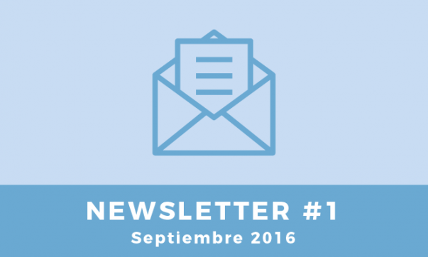 Newsletter #1 Septiembre 2016