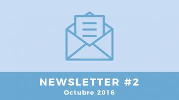 Newsletter #2 - Octubre 2016