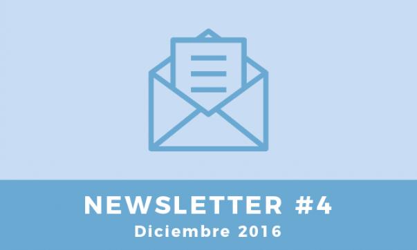 Newsletter #4 - Diciembre 2016