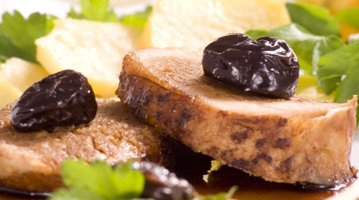 receta de solomillo de cerdo con ciruelas
