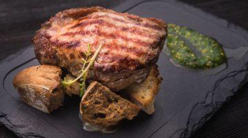 receta de tosta de solomillo de cerdo