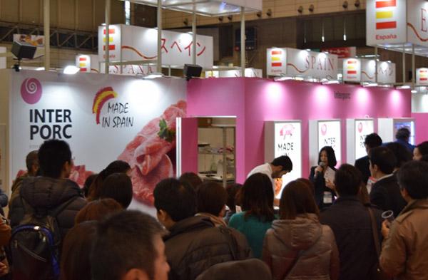 INTERPORC en Foodex Japan