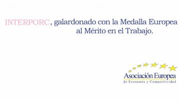 Medalla Europea al Mérito al Trabajo