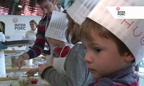 Escolares de Barcelona aprenden a cocinar junto al Chef Pepo