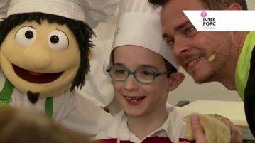Los niños de Pamplona aprenden a cocinar junto al Chef Pepo