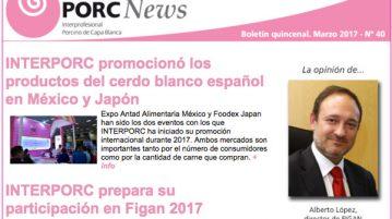 Boletín Interporcnews nº 40