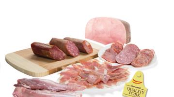 carnes y elaborados de porcino de capa blanca