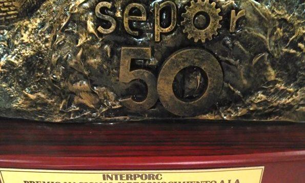 INTERPORC recibe el Premio Nacional SEPOR a la Internacionalización, Promoción y Difusión en el Sector Porcino