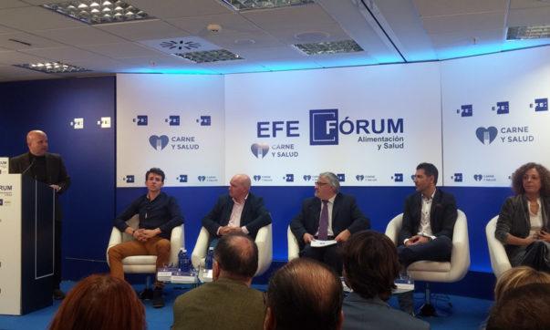 Momento del debate en EFEFórum