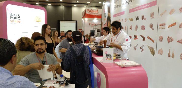 INTERPORC lleva a México lo mejor de los productos del cerdo de capa blanca español
