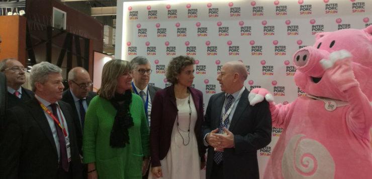 Sanidad y Agricultura apoyan la labor de INTERPORC en Alimentaria 2018
