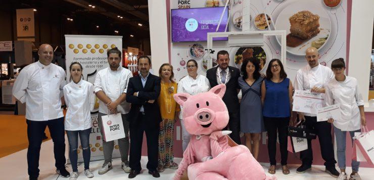 """La albaceteña Emilia Piñero, galardonada con el reconocimiento """" INTERPORC Promesas de la Cocina"""""""