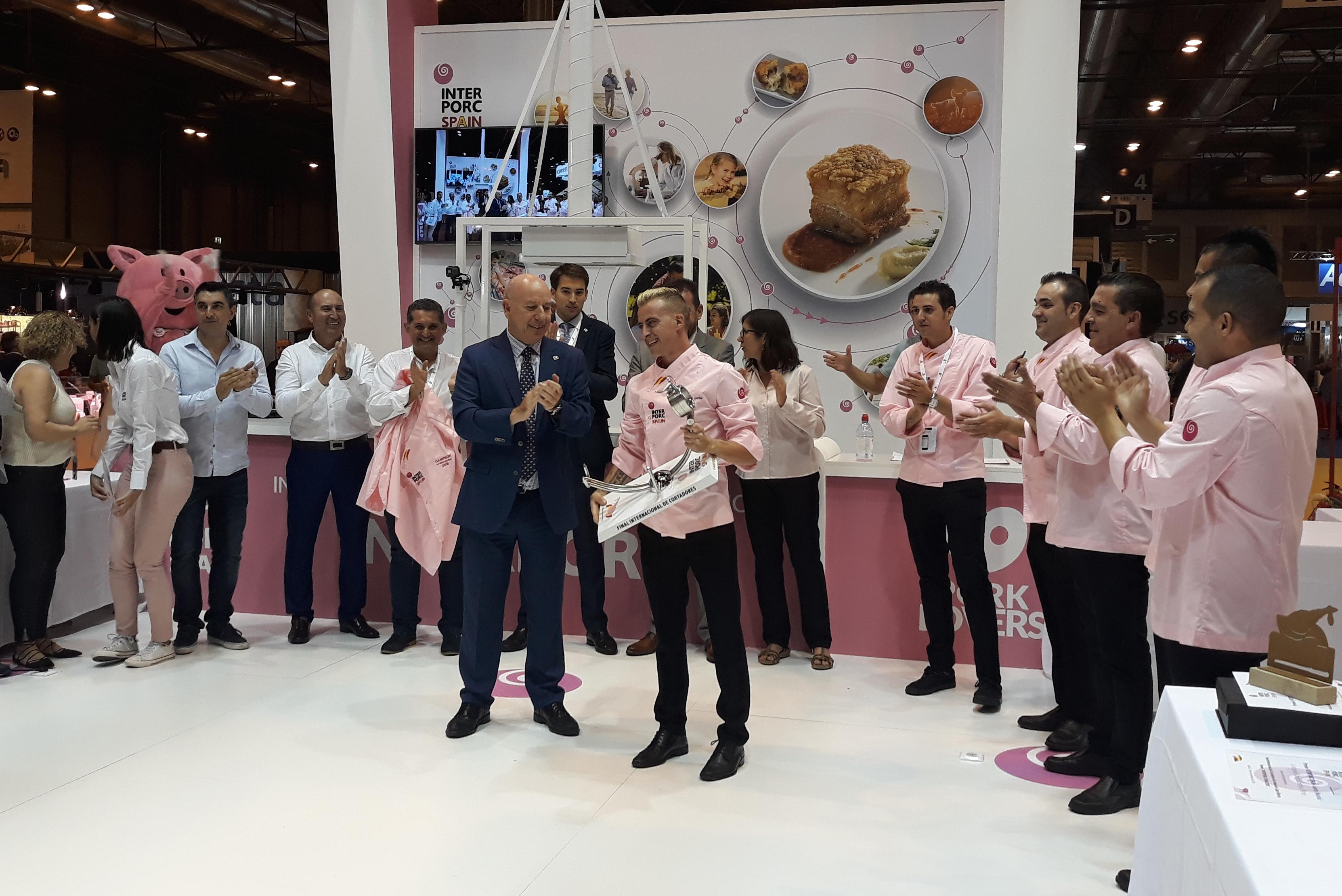 final concurso cortadores INTERPORC Meat Attraction 2018