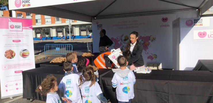 """INTERPORC se une a la carrera """"10k Mercamadrid"""" en apoyo al deporte y la alimentación saludable"""