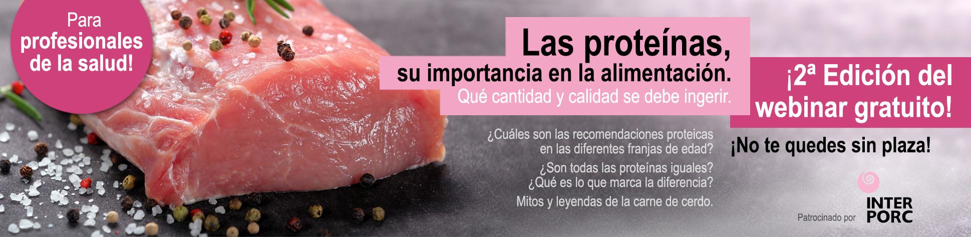 Las proteínas, su importancia en la alimentación