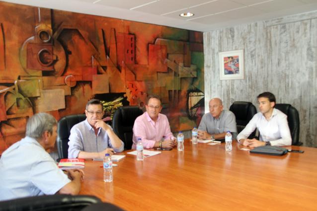 Reunión UGT FICA