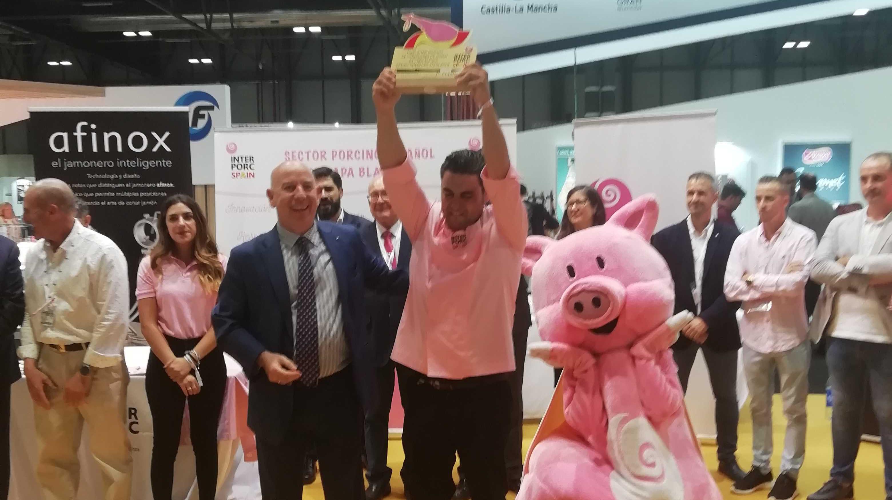 II Final Concurso Internacional de cortadores INTERPORC