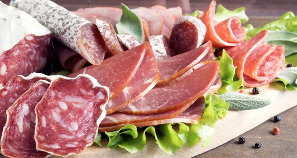 Consumo carne y derivados