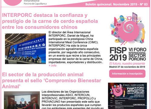 Boletín Interporcnews nº 83
