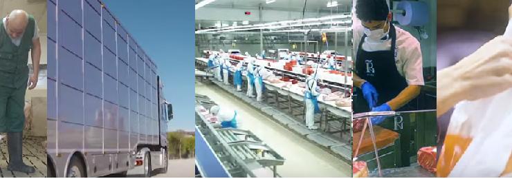Miles de trabajadores continúan en sus puestos para garantizar el abastecimiento de productos cárnicos